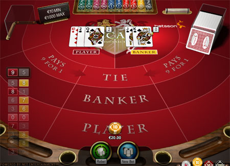 Super Six Baccarat ( Super 6 )
