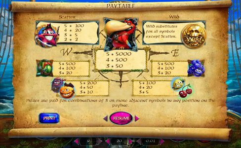 lucky pirates slot-online